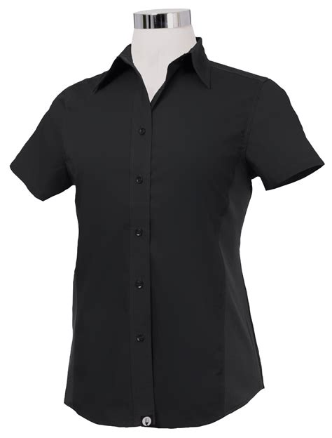 Kitchen Shirts by Chef Works Womens Universal Cool Vent Kitchen Shirt Black