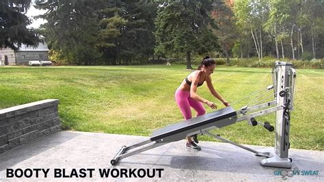 total gym booty exercises total gym pulse youtube