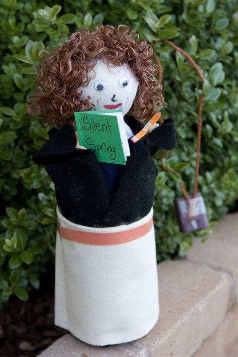 biography bottle head dolls rachel carson biography bottle doll crafts pinterest