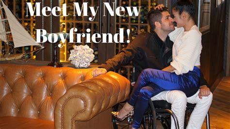 meet my new boyfriend wheelchair