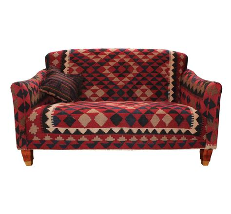 Brompton Fixed Back Sofa In Kilim 187 Special Offers On