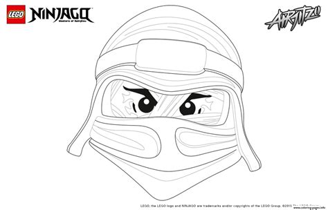 ninjago mask coloring pages ninjago lego lloyd coloring pages printable