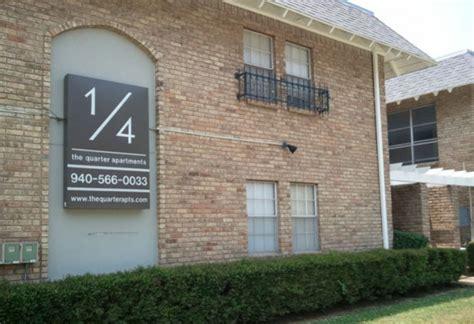 Quarter Apartments Denton Tx Quarter Denton College Apartment Source