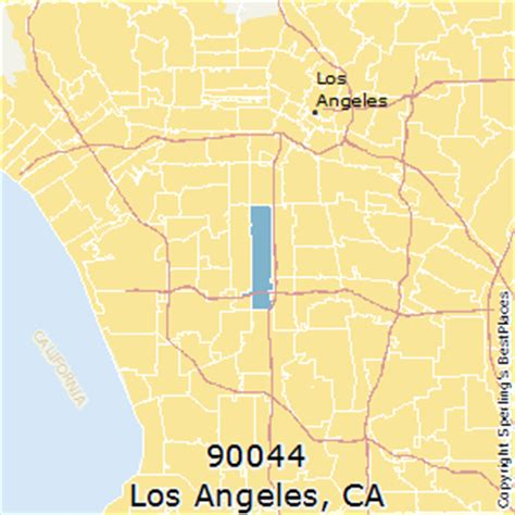 zip code map for los angeles best places to live in los angeles zip 90044 california