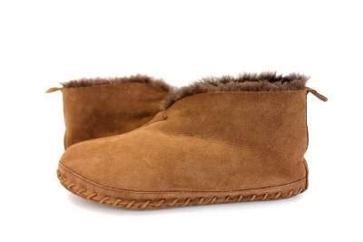 ll bean mens sheepskin slippers mens brown ll bean shearling sheepskin moccasin boots
