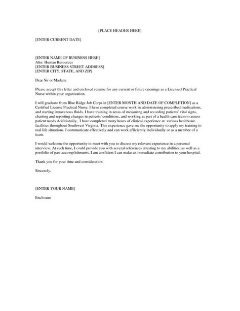 Best Resume Cover Letter Exles by Lpn Resume Cover Letter Best Resume Gallery