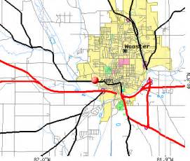Wooster Ohio Map by 44691 Zip Code Wooster Ohio Profile Homes Apartments