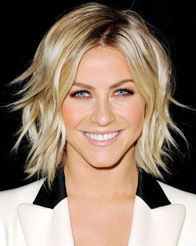 juliannehough curly bob short blonde hair hair styles pinterest
