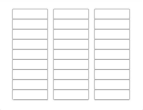 Free Printable Blank Label Templates Journalingsage Com Free Blank Label Templates