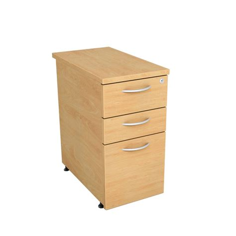 Narrow Desk With Drawers narrow desk pedestal 3 drawer