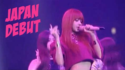 blackpink japan debut full blackpink japan debut eng youtube