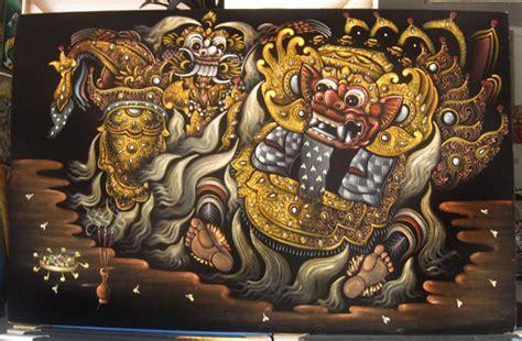 Lukisan Bali 1 pusat jual lukisan termurah lukisan barong bali