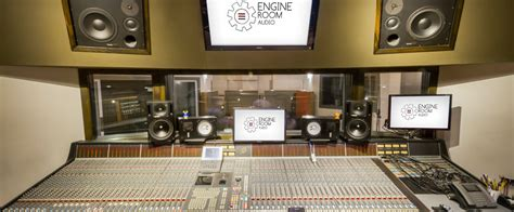 Engine Room Audio by Recording Engine Room Audio