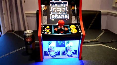 pac man arcade cabinet mini pac man arcade machine cabinet youtube