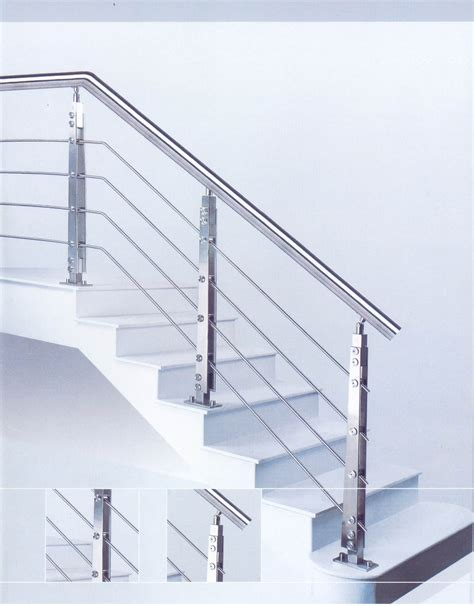 stainless steel handrail and banister manufacturer