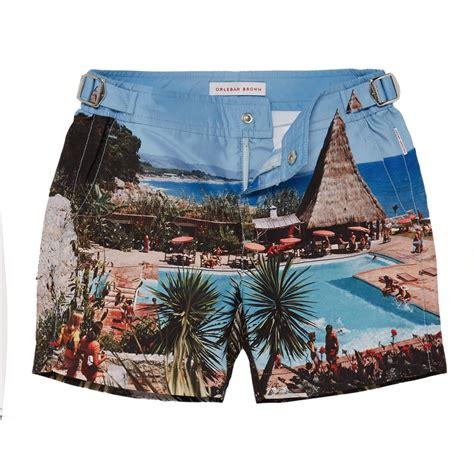 Print Swim Shorts orlebar brown boys print swim shorts orlebar brown