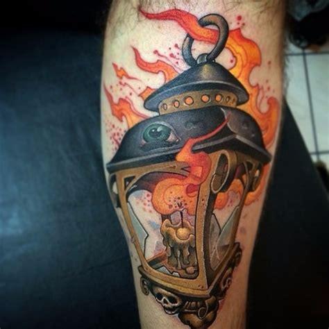 new school candle tattoo lantern tattoos best tattoo ideas gallery