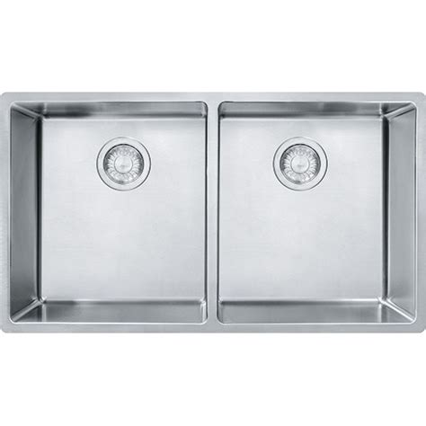 Franke Cux120 Cube 31 1 2 Inch Undermount Double Bowl Franke Kitchen Sinks Prices