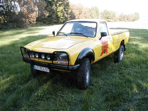 peugeot 504 pickup peugeot 504 18 pick up picture 2 reviews news specs