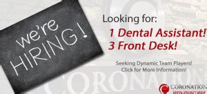 dental office hiring front desk hiring a dental assistant and front desk at our specialist
