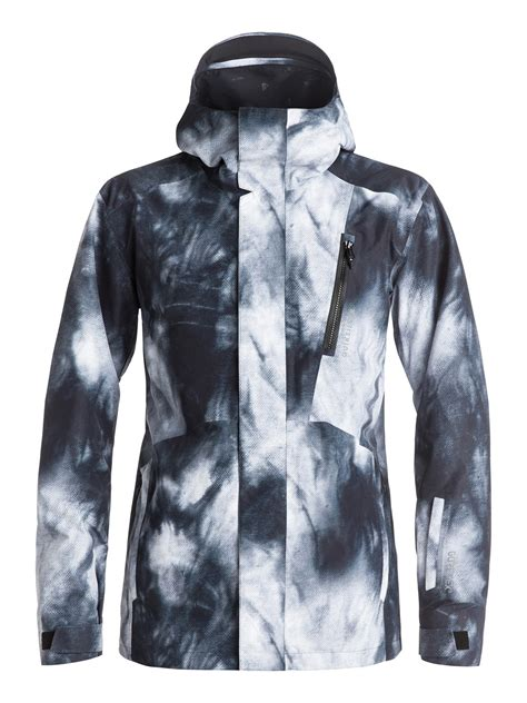 on sale quiksilver forever printed tex snowboard jacket up to 40