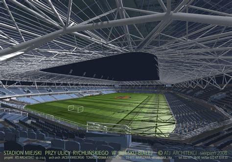 w bielsku design stadion miejski w bielsku białej stadiumdb com