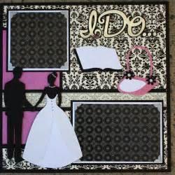 Wedding Scrapbook Albums 12x12 Complete Wedding Album Series Tie The Knot 12x12 Double Scrapbook Layout Faith Abigail Designs