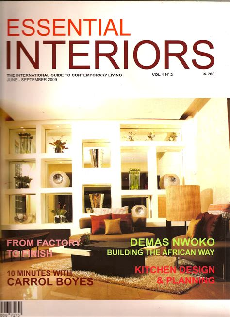 home and design magazine with home decoration planner