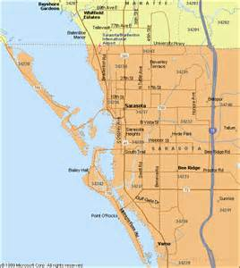 maps of sarasota