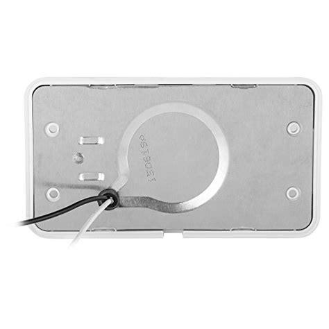 rv exterior light lenses lumitronics led rv exterior porch light with on switch