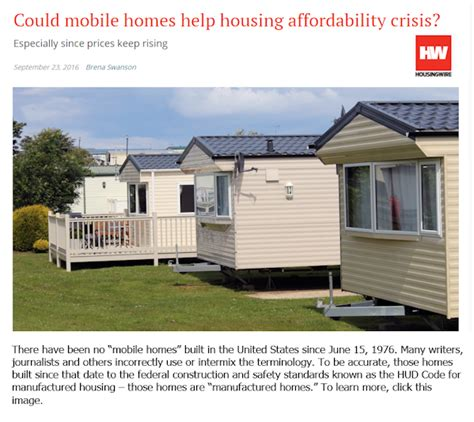 manufactured homes what s in a name an informal survey bloomberg housingwire realtor and fox all suggest