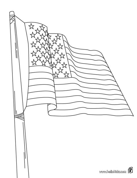 free printable us flag coloring pages get this american flag coloring pages free to print 05683
