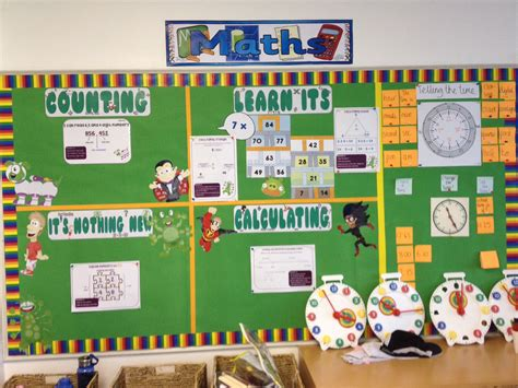 ideas for ks2 music lessons big maths learning wall working progress maths