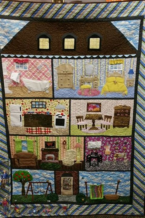 dolls house patterns doll house quilt pattern
