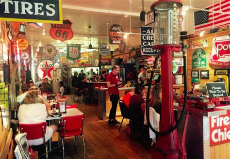 themed parties filling station filling station grille is a gas station themed restaurant