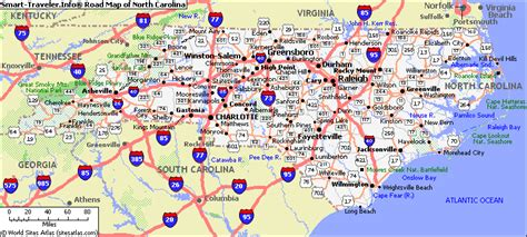 map of carolina cities list cities towns carolina carolina map directory for print out road maps nc state and