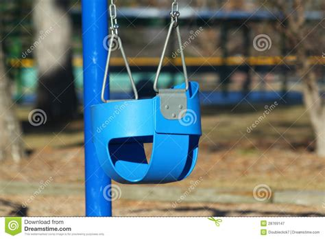 baby swing playground baby swing at playground royalty free stock photography