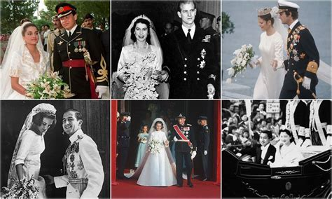 Vintage royal weddings: Long lasting married couples from