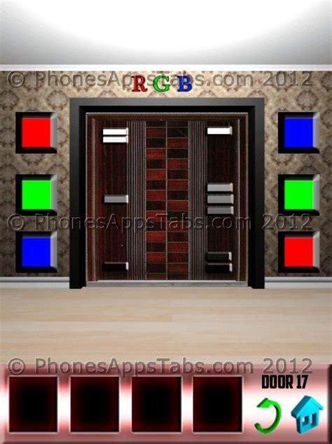 100 Doors Floor 17 Walkthrough - 100 doors walkthrough and solutions for levels 11 12 13