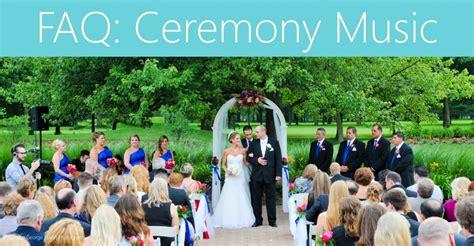 Wedding Ceremony Jazz Songs by Faq Ceremony