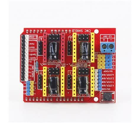 cnc grbl shield v3 driver a4988 impresora reprap 3d