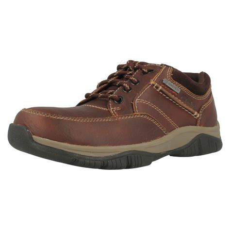 mens clarks tex casual walking shoes rart go gtx