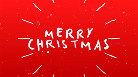 free template after effects merry christmas videohive christmas typography card free download free