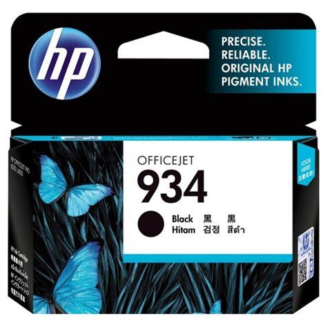Cartridge Hp 934 Black Original Ink Cartridge C2p19aa Hp 934 Black Ink Cartridge C2p19aa