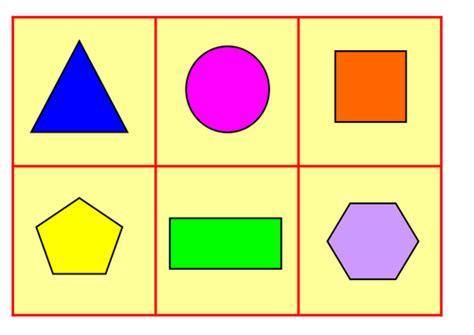Shape 2 D 2d shape bingo by beccy9876 teaching resources tes