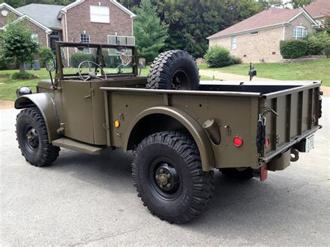 ls powered 1951 dodge m37 bring a trailer