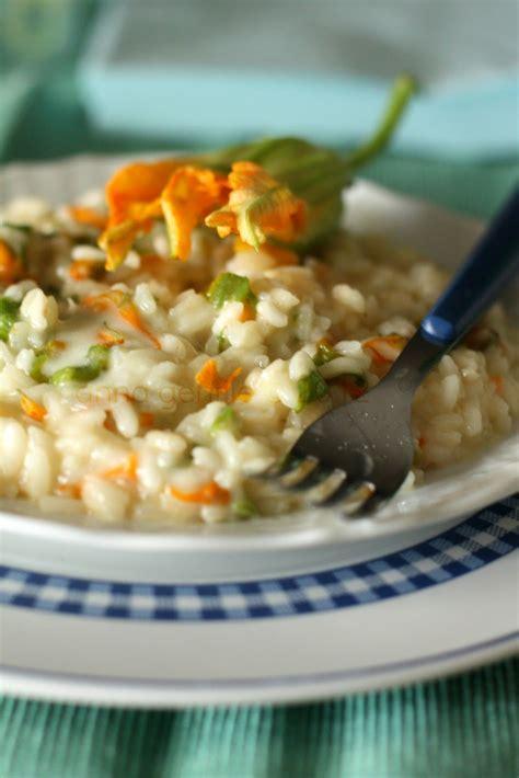 risotto con i fiori di zucchina risotto con fiori di zucchina e gorgonzola the
