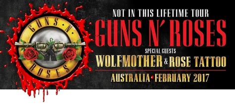 rose tattoo the band wolfmother and confirmed as special guests on