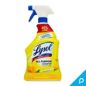 lysol  purpose cleaner spray lemon breeze  oz ebay
