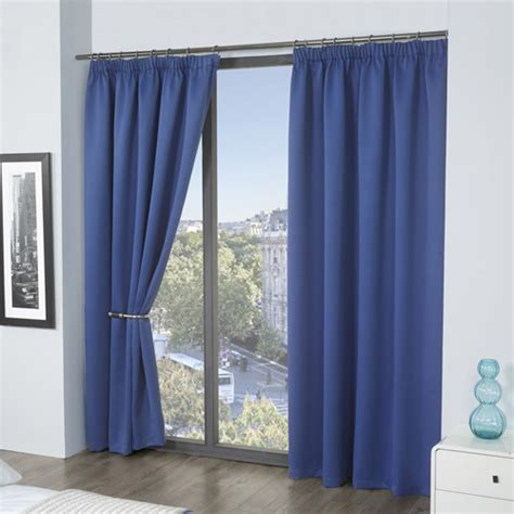 tony s curtains thermal supersoft blackout curtains blue tony s textiles